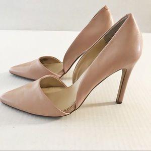 Banana Republic Pink Leather Heels • size 9.5